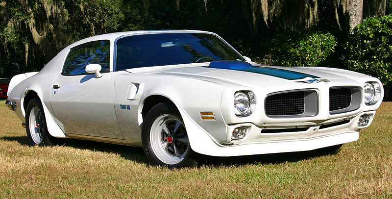 1972 Pontiac Firebird Trans Am 455