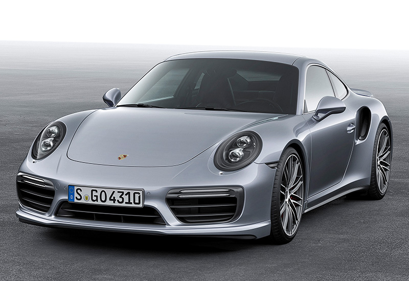 2016 Porsche 911 Turbo Coupe (991)