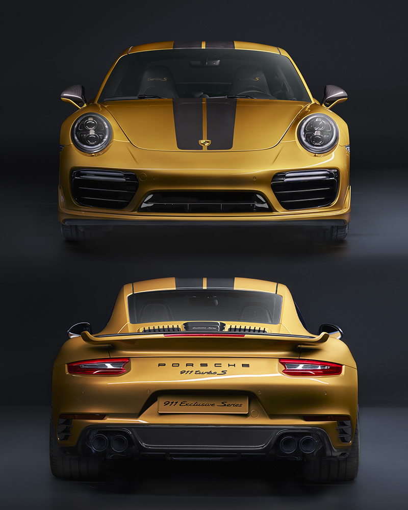 Porsche 911 V6 Horsepower: 2017 Porsche 911 Turbo S Exclusive Series (991.2