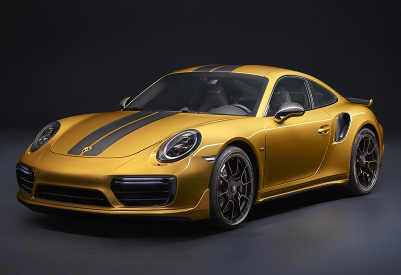 2017 Porsche 911 Turbo S Exclusive Series 991 2