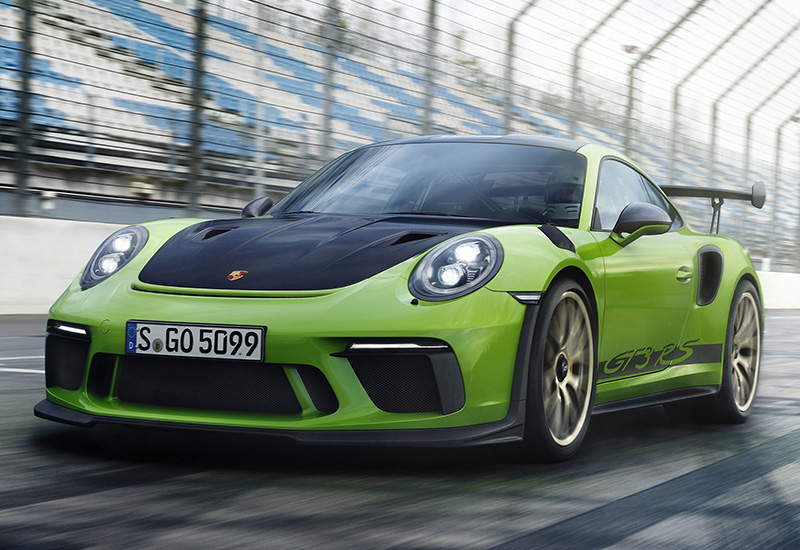 2019 Porsche 911 GT3 RS Weissach (991.2) - specifications, photo, price, information, rating