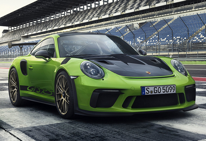 2019 Porsche 911 GT3 RS Weissach (991.2) - specifications ...