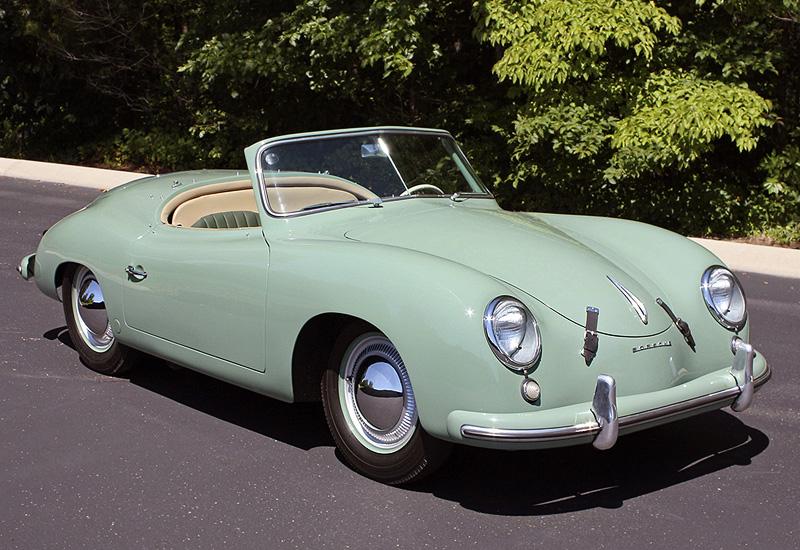 1952 Porsche 356 America Roadster 540 Specifications
