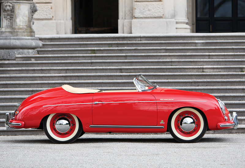 1955 Porsche 356 Speedster 1600s Specifications Photo