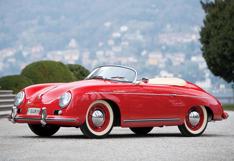 1955 Porsche 356 Sdster 1600S - specifications, photo, price ...