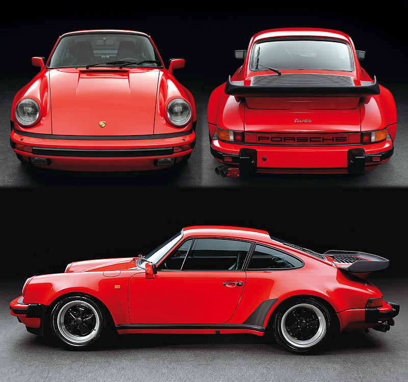Porsche 911 V6 Horsepower: 1978 Porsche 911 Turbo 3.3 Coupe (930)