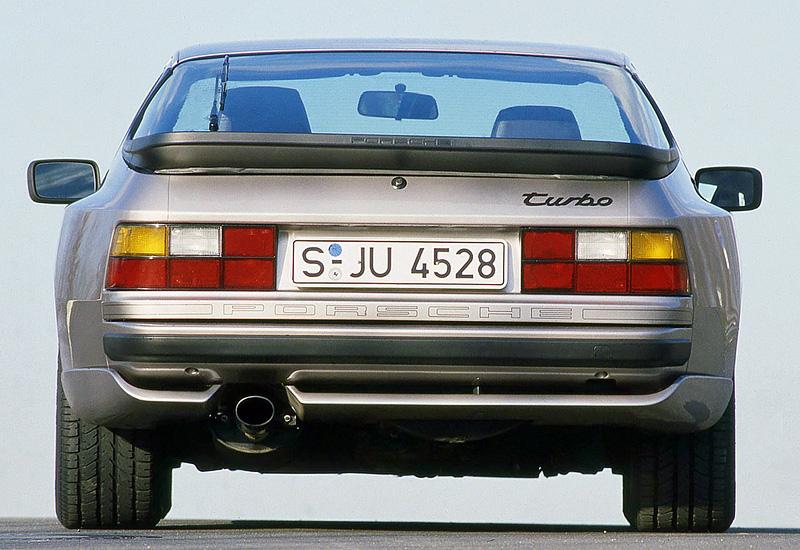 1988 Porsche 944 Turbo S Coupe Specifications Photo