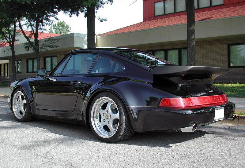 1992 porsche 911 turbo 3 6 coupe 964 specifications photo price information rating. Black Bedroom Furniture Sets. Home Design Ideas