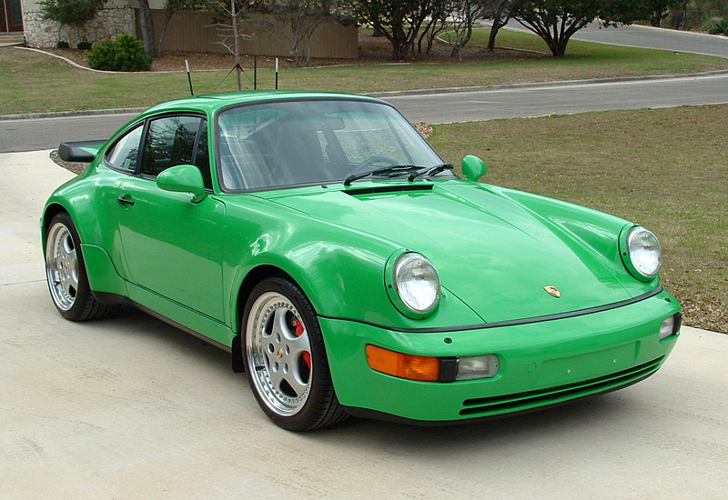 1992 Porsche 911 Turbo 36 Coupe 964 Specifications
