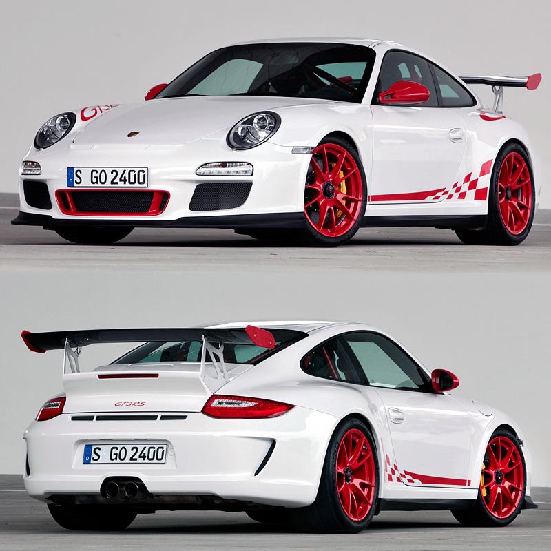 Porsche 911 Engine Weight: 2009 Porsche 911 GT3 RS (997)