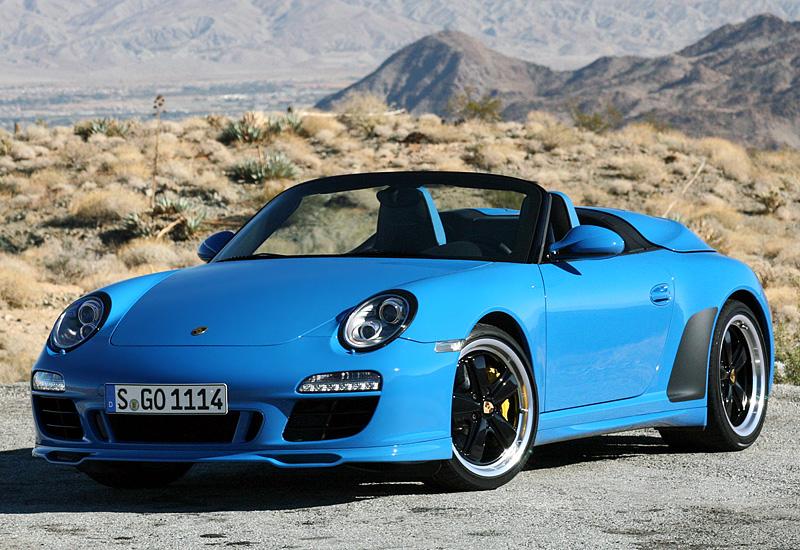 2010 Porsche 911 Speedster 997 Specifications Photo