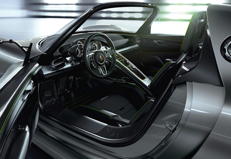 2010 porsche 918 spyder concept specifications photo price information. Black Bedroom Furniture Sets. Home Design Ideas