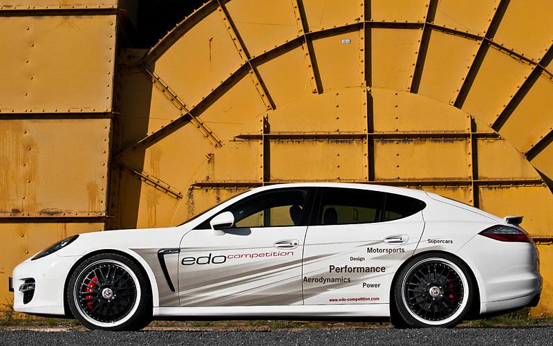 2012 Porsche Panamera Turbo S Edo Competition