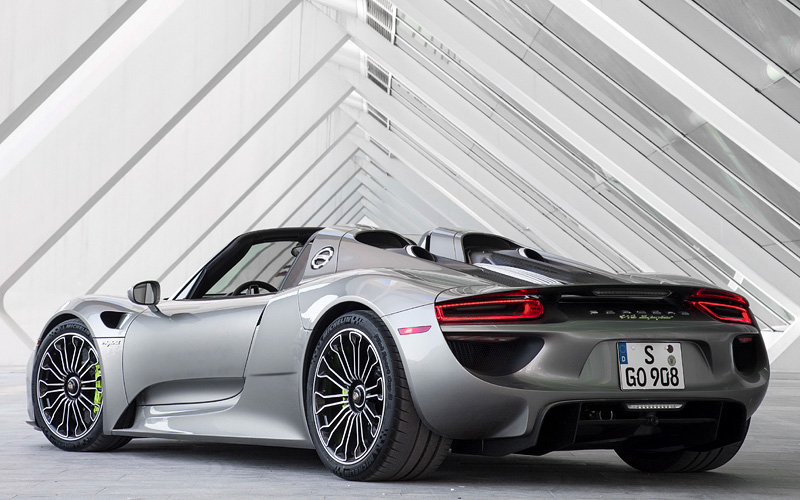 2014 porsche 918 spyder specifications photo price. Black Bedroom Furniture Sets. Home Design Ideas