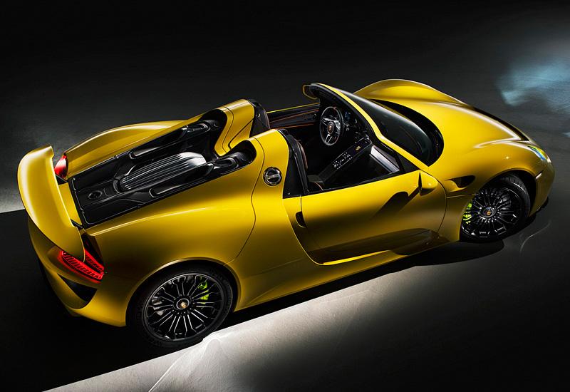 2014 Porsche 918 Spyder Specifications Photo Price