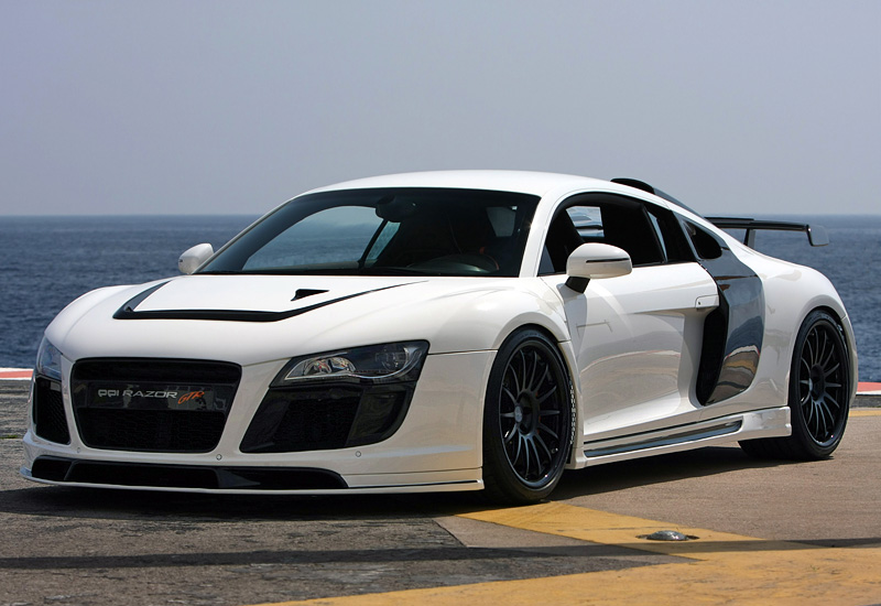 2009 audi r8 ppi razor gtr specifications photo price information rating. Black Bedroom Furniture Sets. Home Design Ideas