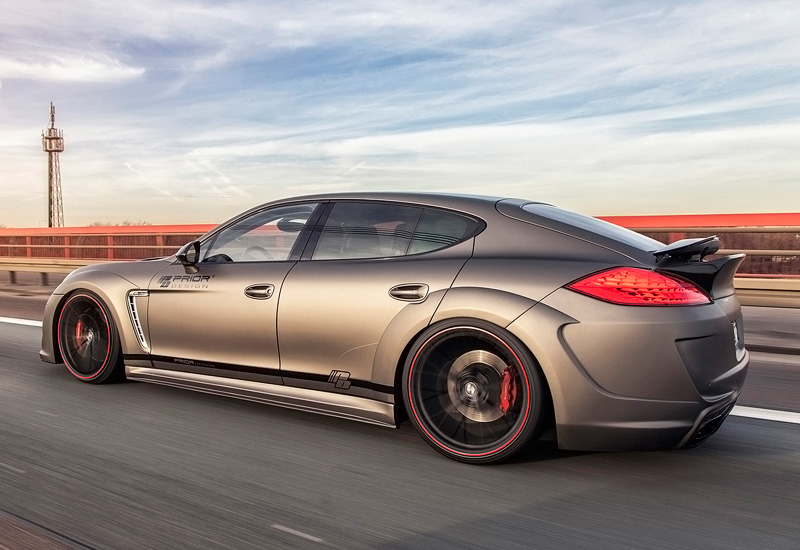 2012 porsche panamera turbo prior design prior600 wb specifications photo price information. Black Bedroom Furniture Sets. Home Design Ideas