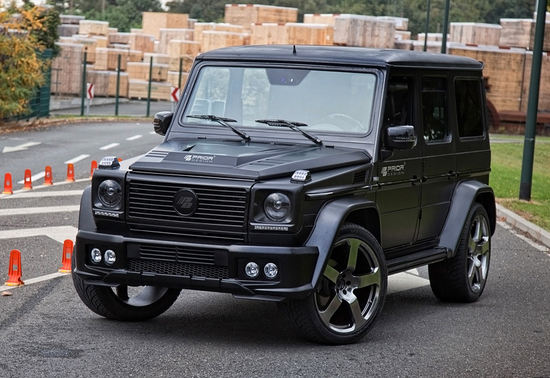 2014 mercedes benz g 55 amg prior design g class widebody specifications photo price. Black Bedroom Furniture Sets. Home Design Ideas