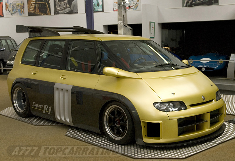 1995 Renault Espace F1 Specifications Photo Price