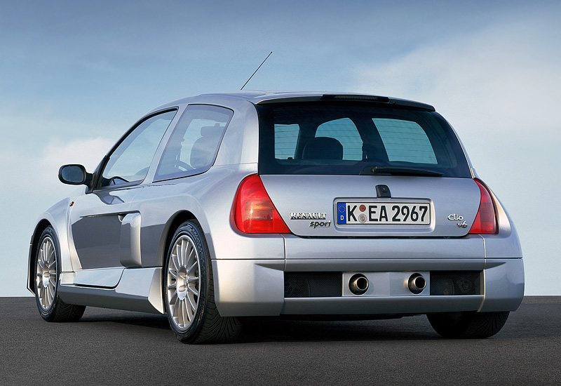 2001 Renault Clio V6 Sport Mk1 Specifications Photo Price Information Rating