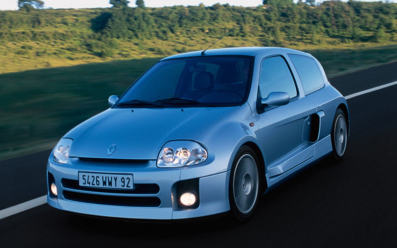 2001 Renault Clio V6 Sport Mk1 Specifications Photo