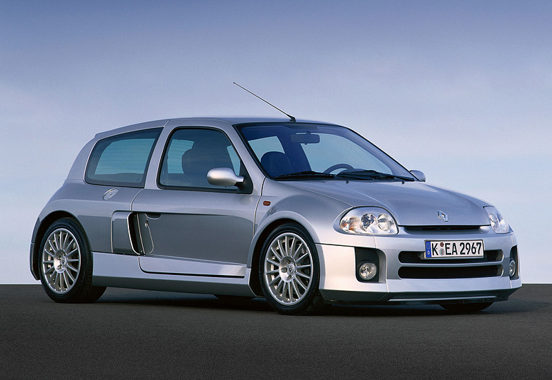 2001 renault clio v6 sport mk1 specifications photo price information rating. Black Bedroom Furniture Sets. Home Design Ideas