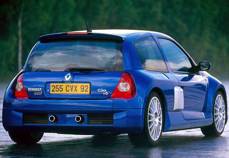 2003 renault clio v6 sport mk2 specifications photo price information rating. Black Bedroom Furniture Sets. Home Design Ideas