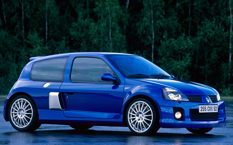 2003 Renault Clio V6 Sport (Mk2) - specifications, photo, price, information, rating