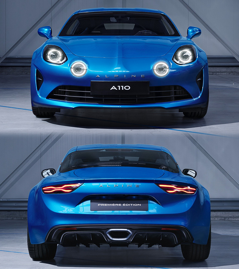 Ford 250 2018 >> 2018 Renault Alpine A110 - specifications, photo, price, information, rating