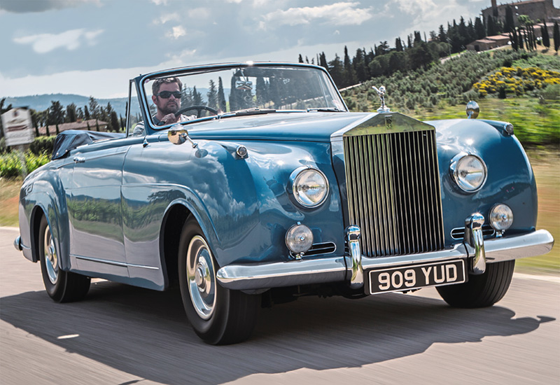 1959 Rolls Royce Silver Cloud Drophead Coupe Mulliner