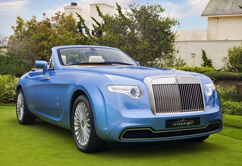2008 Rolls Royce Hyperion Specifications Photo Price