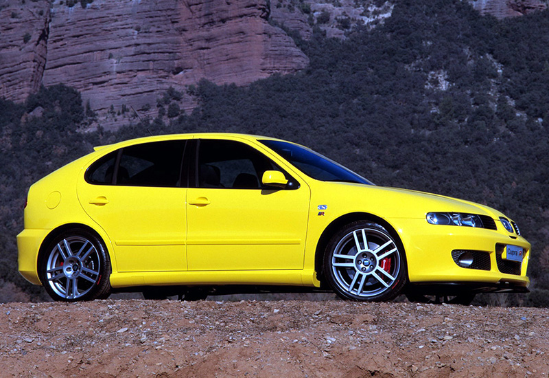 2003 seat leon cupra r 1m specifications photo price information rating. Black Bedroom Furniture Sets. Home Design Ideas