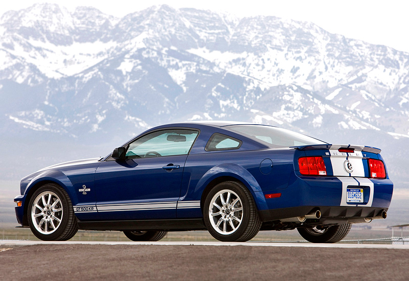 2008 Mustang Gt 0 60 >> 2008 Ford Mustang Shelby GT500 KR 40th Anniversary - specifications, photo, price, information ...