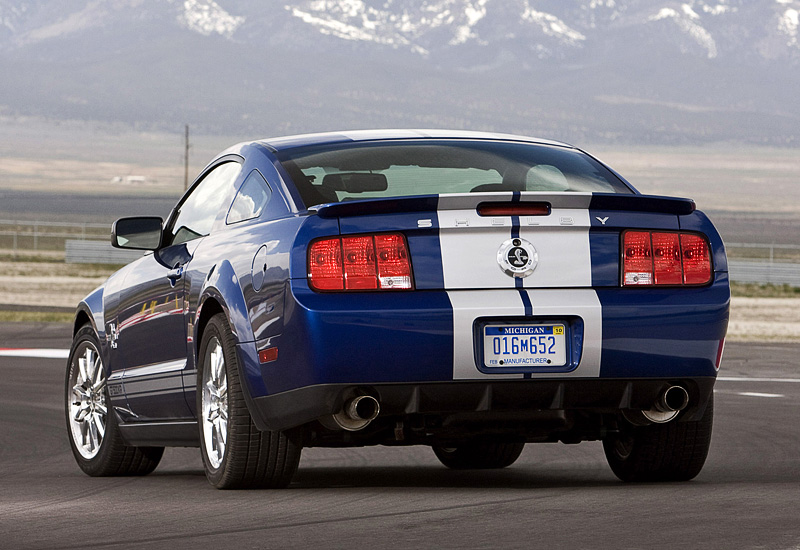 ford mustang shelby gt kr  anniversary specifications photo price information