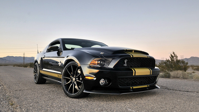 2012 Ford Mustang Shelby Gt500 Super Snake 50th