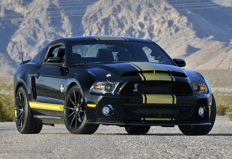 Ford Mustang Shelby GT500 Super Snake Engine