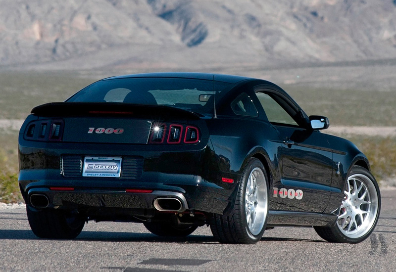 2013 Ford Mustang Shelby 1000 S C Specifications Photo