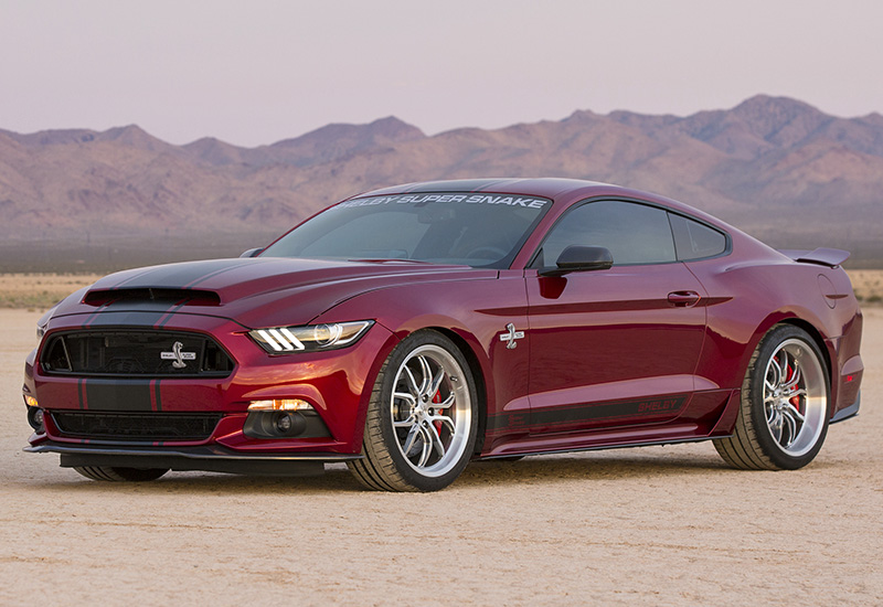 2016 Ford Mustang Shelby Super Snake specifications photo price