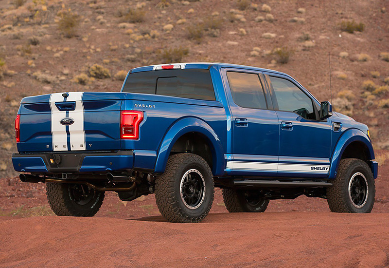 2016 Ford Shelby F-150 Supercharged - specifications ...