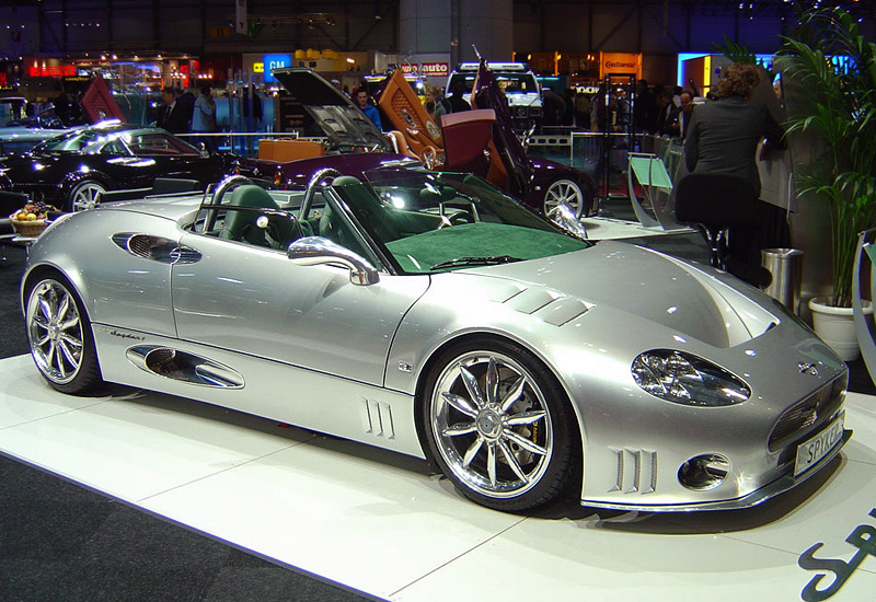 2004 Spyker C8 Spyder T - specifications, photo, price, information ...