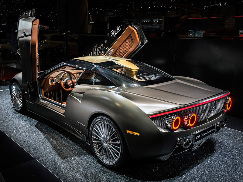 200 Kph To Mph >> 2016 Spyker C8 Preliator Concept - specifications, photo ...