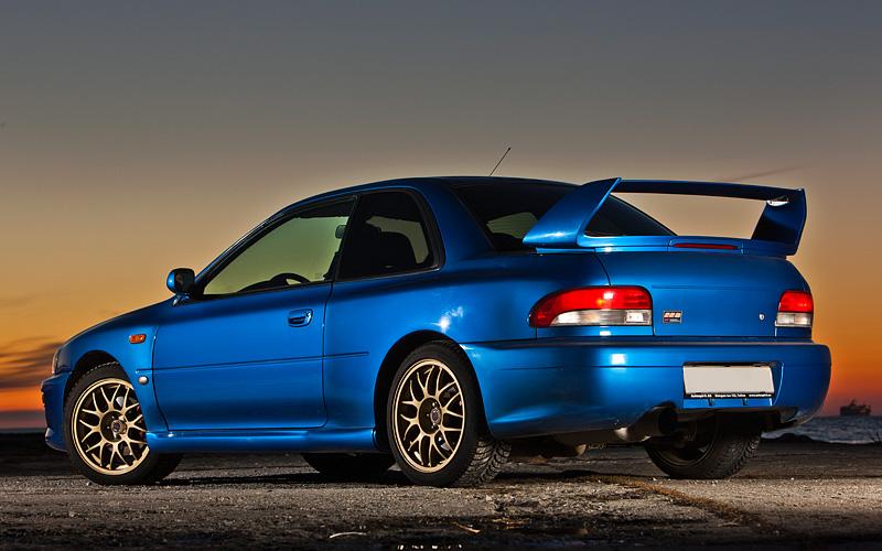 Subaru Impreza B Sti on Subaru Impreza 22b Sti