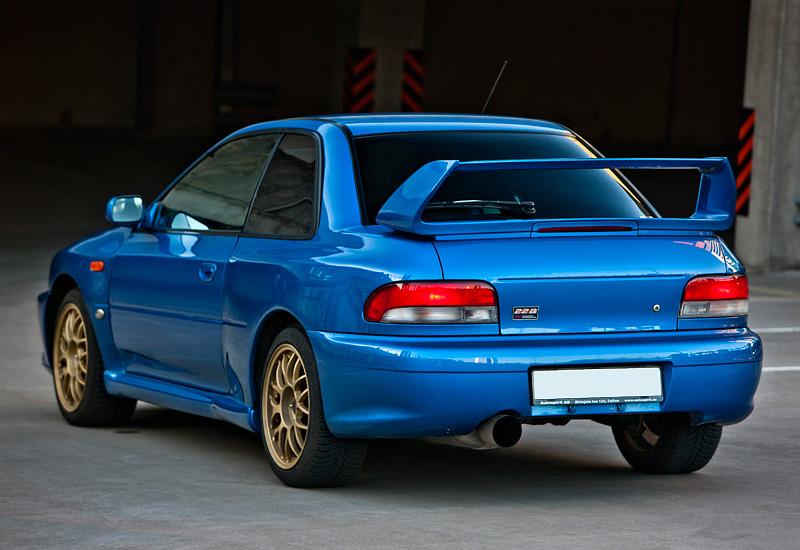 1998 Subaru Impreza 22b Sti Specifications Photo Price