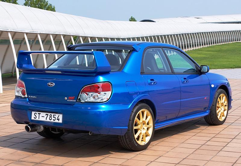 2006 Subaru Impreza WRX STi GDB specifications photo