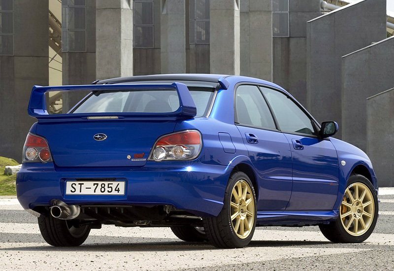 300 Hp Cars >> 2006 Subaru Impreza WRX STi (GDB) - specifications, photo, price, information, rating