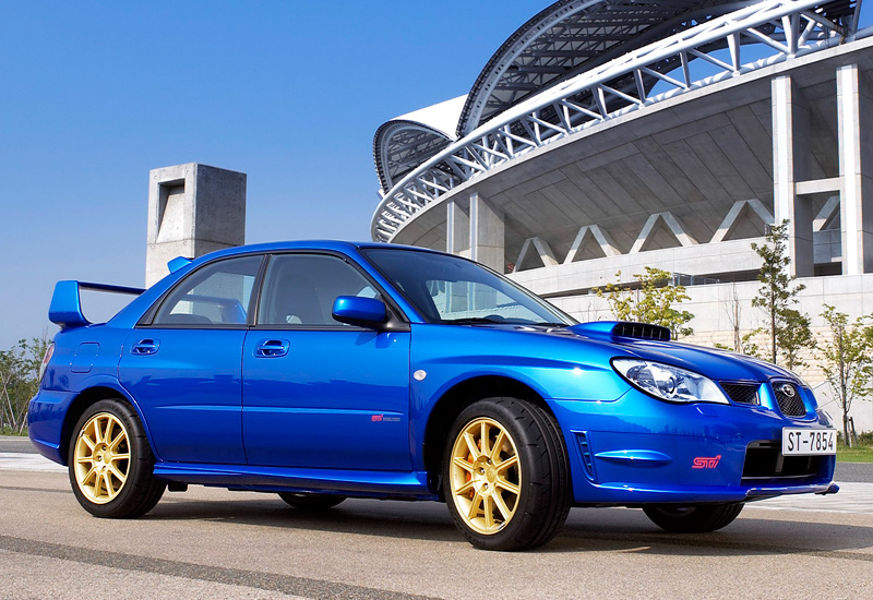 2006 subaru impreza wrx sti gdb specifications photo price information rating. Black Bedroom Furniture Sets. Home Design Ideas