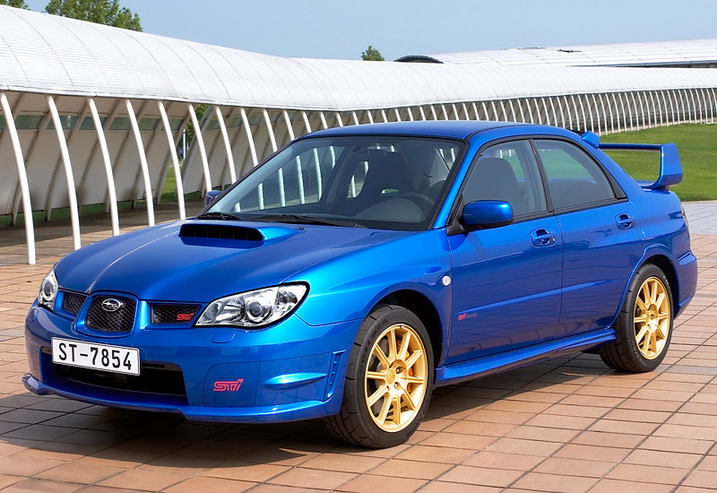 Subaru Impreza Wrx Sti 2006 >> 2006 Subaru Impreza Wrx Sti Gdb Specifications Photo