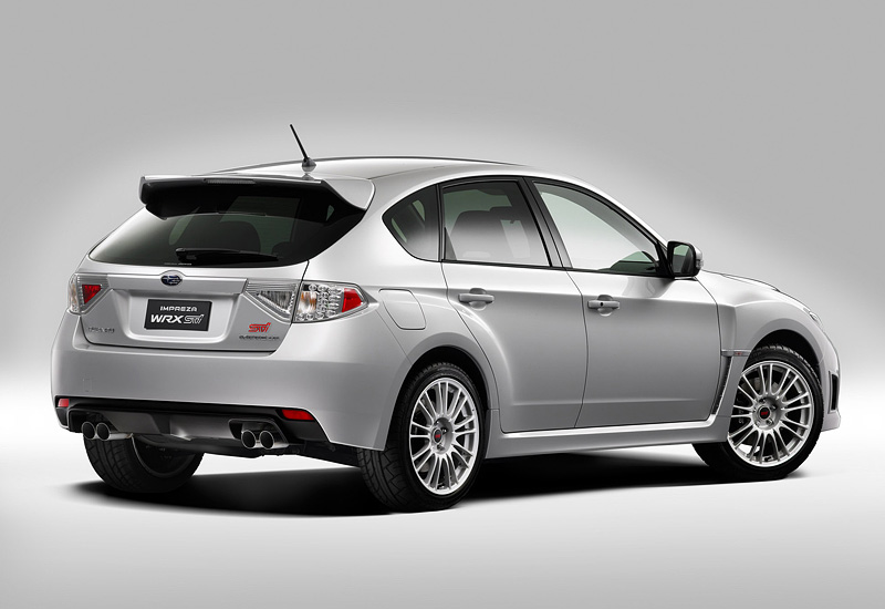 2008 subaru impreza wrx sti specifications photo price information rating. Black Bedroom Furniture Sets. Home Design Ideas