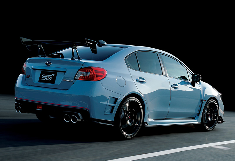 2018 Subaru WRX STi S208 - specifications, photo, price ...