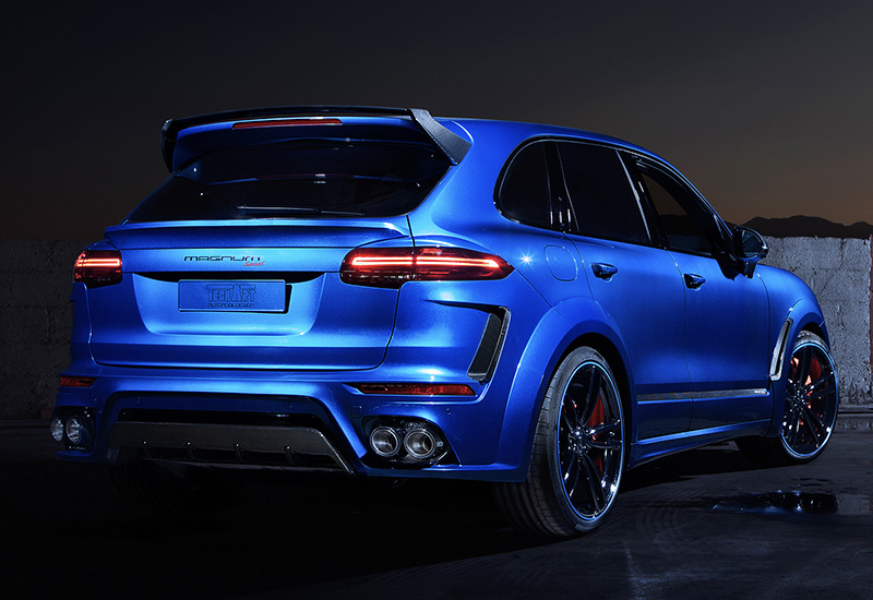 2016 porsche cayenne turbo s techart magnum sport specifications photo price information. Black Bedroom Furniture Sets. Home Design Ideas